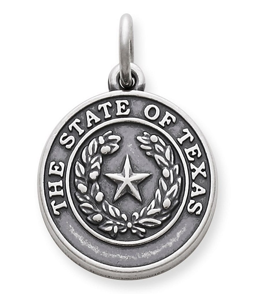 James Avery State Seal Of Texas Charm