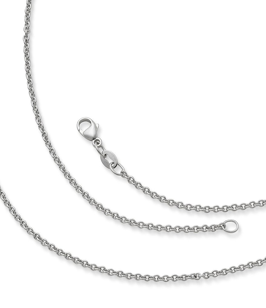 James Avery Sterling Silver Light Cable Chain