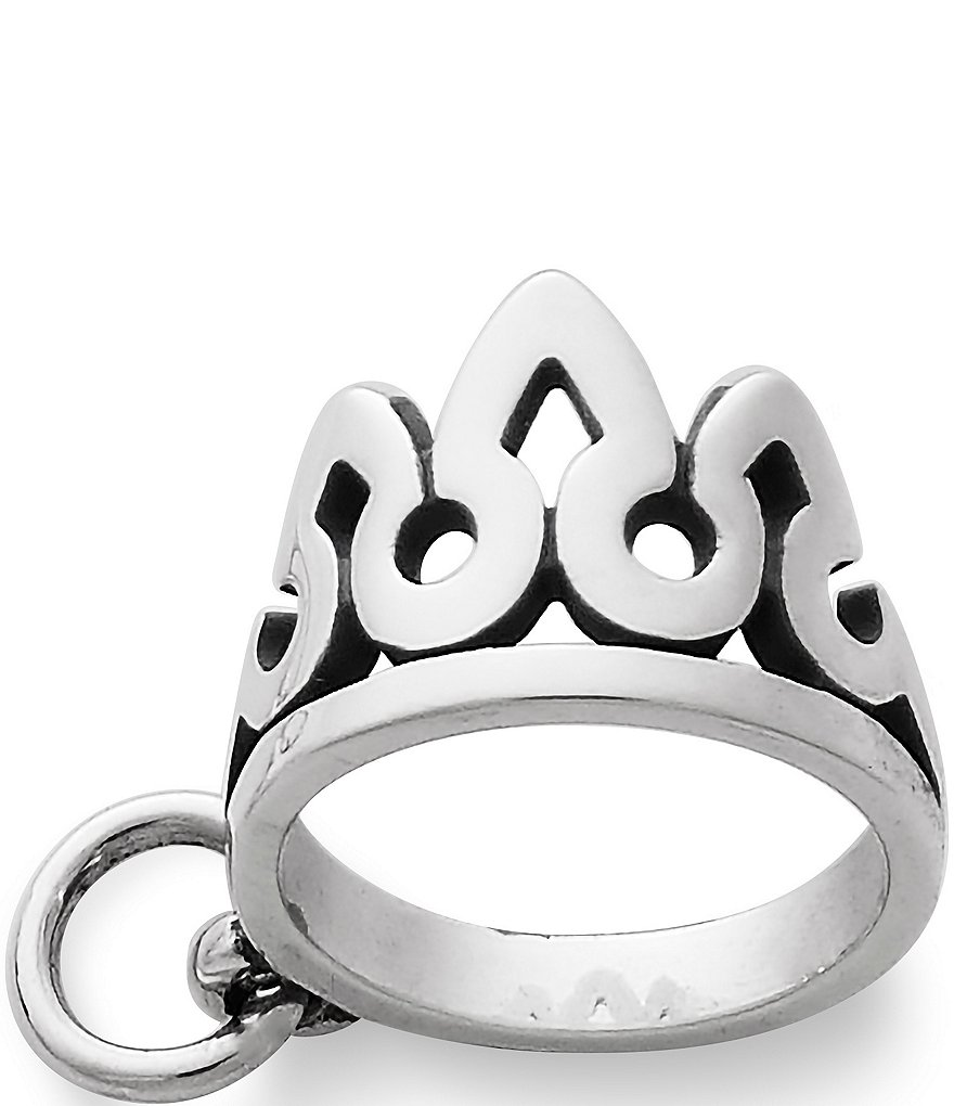 James Avery Sterling Silver Tiara Charm