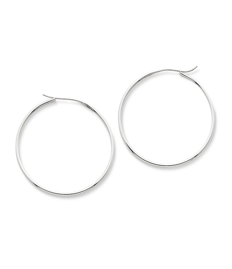 James Avery Swedged Hoop Earrings