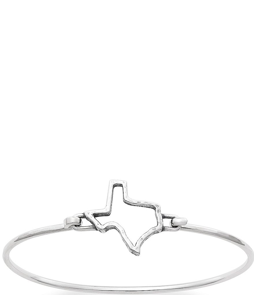 James Avery Texas Forged Hook-On Bracelet