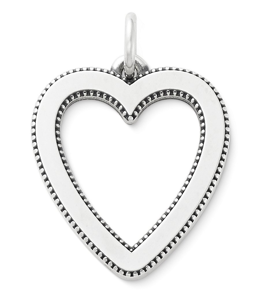 James Avery Vintage Heart Pendant