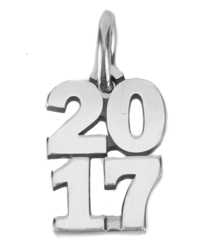 James Avery Year 2017 Charm