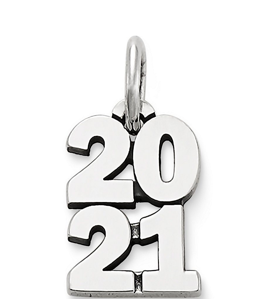 James Avery Year 2021 Charm