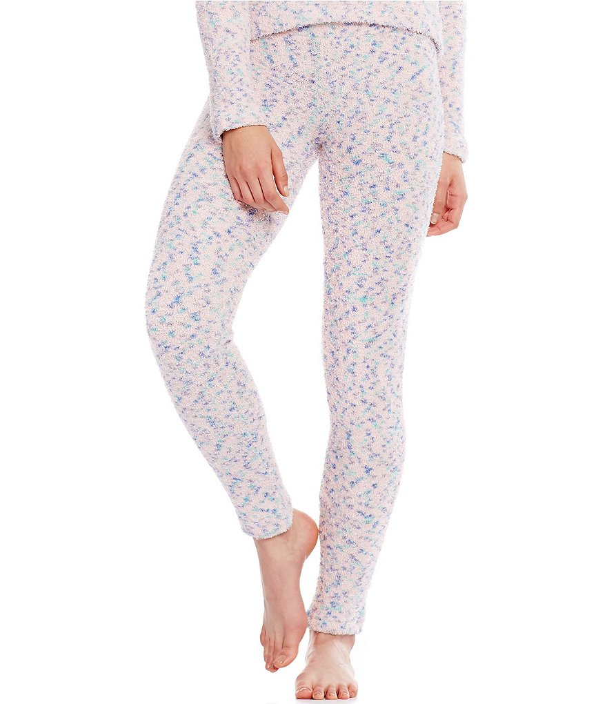 Jasmine & Ginger Feather Fleece Sleep Pants