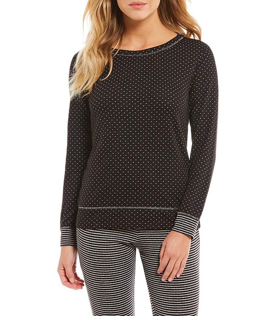 Jasmine & Ginger Polka Dot Sleep Top