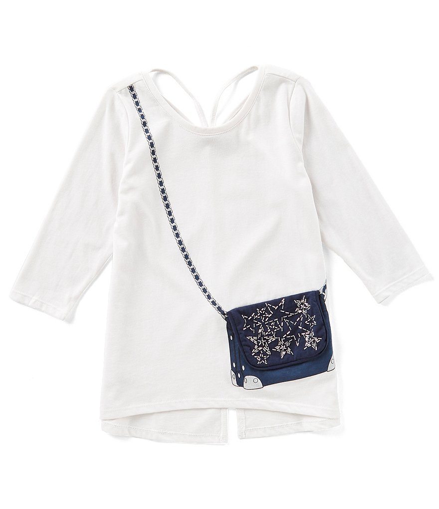 Jessica Simpson Big Girls 7-16 Libra Star-Purse Tee
