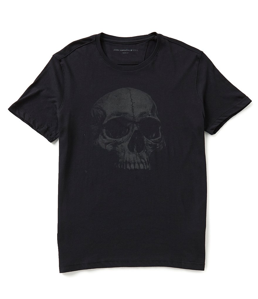 John Varvatos Star USA Skull Graphic Tee