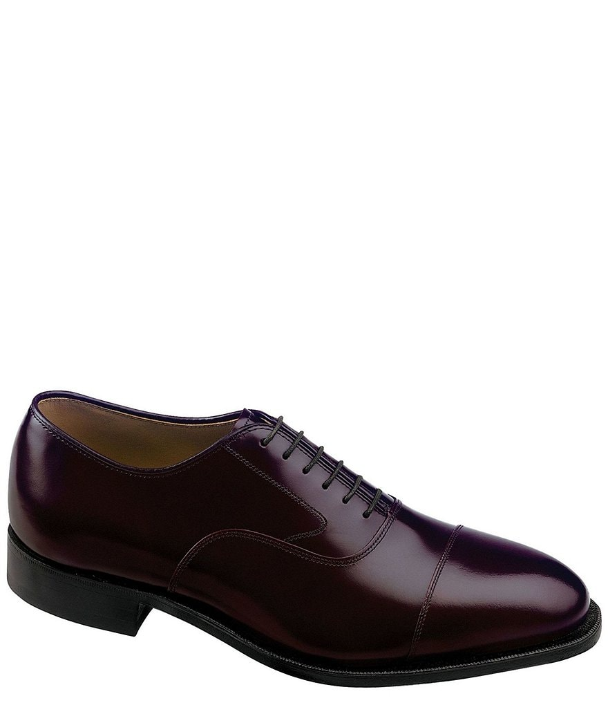 Johnston & Murphy Melton Cap-Toe Dress Oxfords