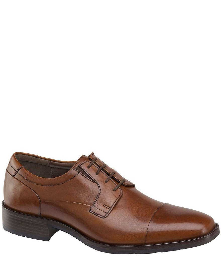 Johnston & Murphy Men's Lancaster Cap Toe Derby