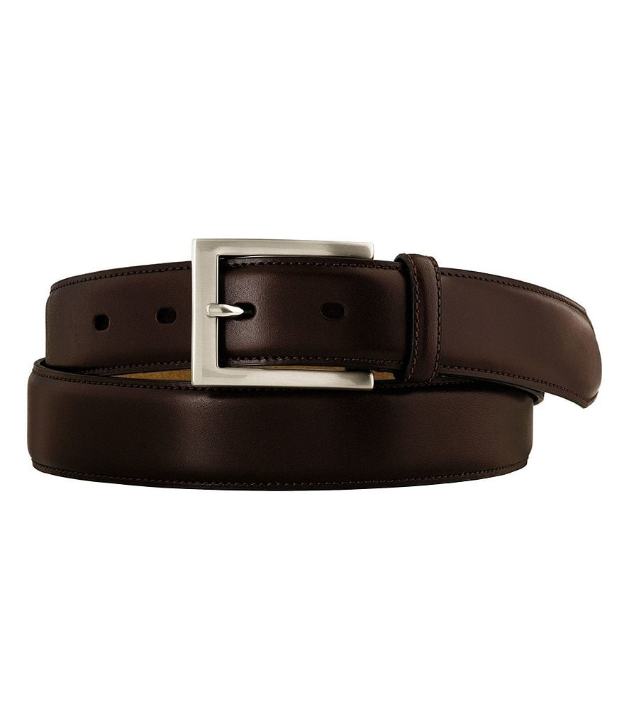 Johnston & Murphy Mens Signature Dress Belt