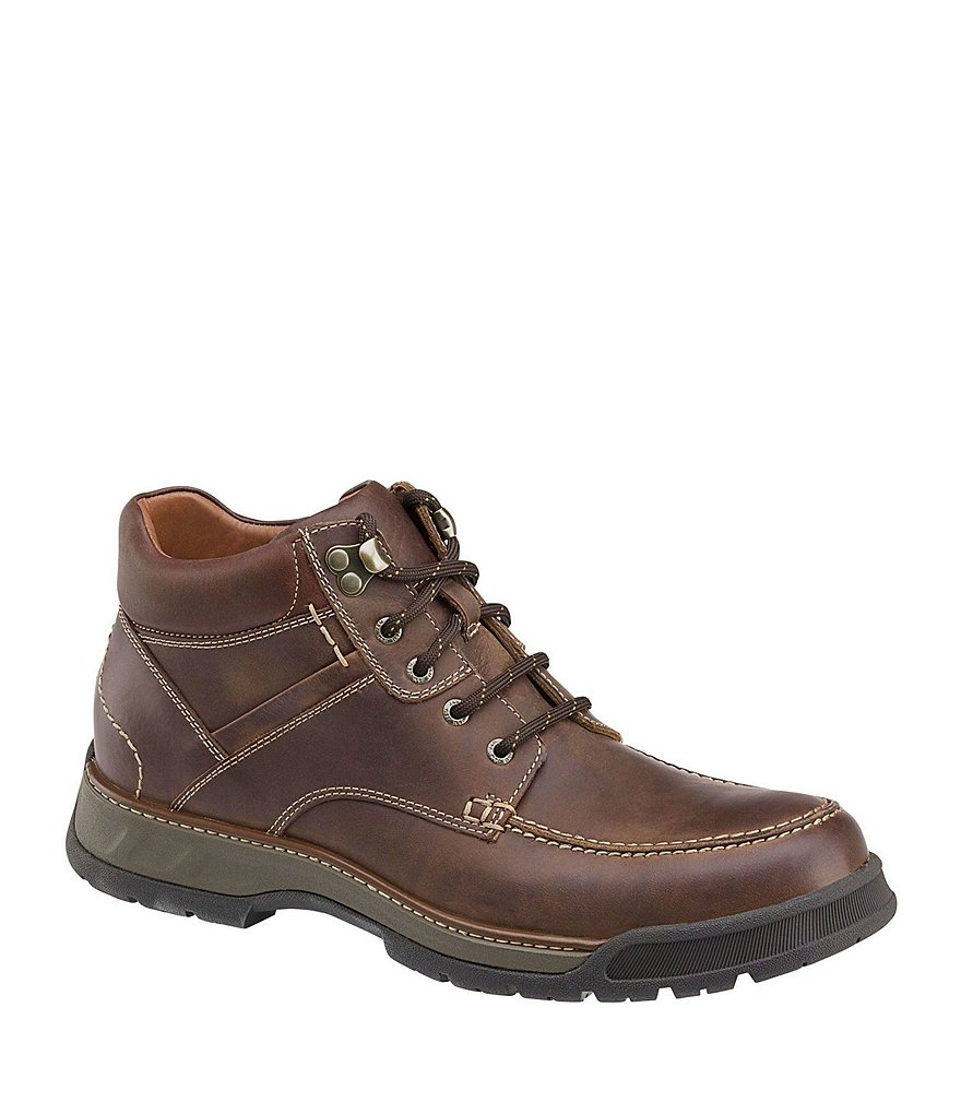 Johnston & Murphy Men's XC4 Thompson Moc Toe Waterproof Boots