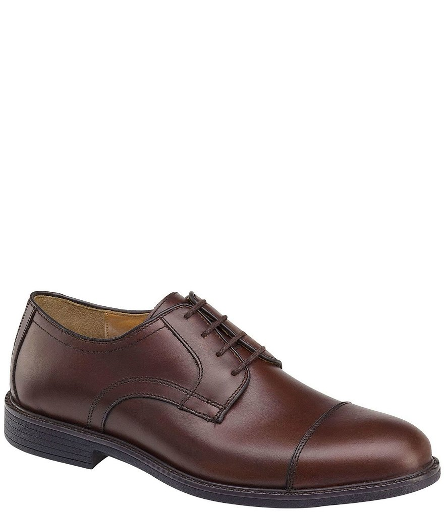 Johnston & Murphy Men's XC4 Waterproof Hollis Cap Toe Oxfords