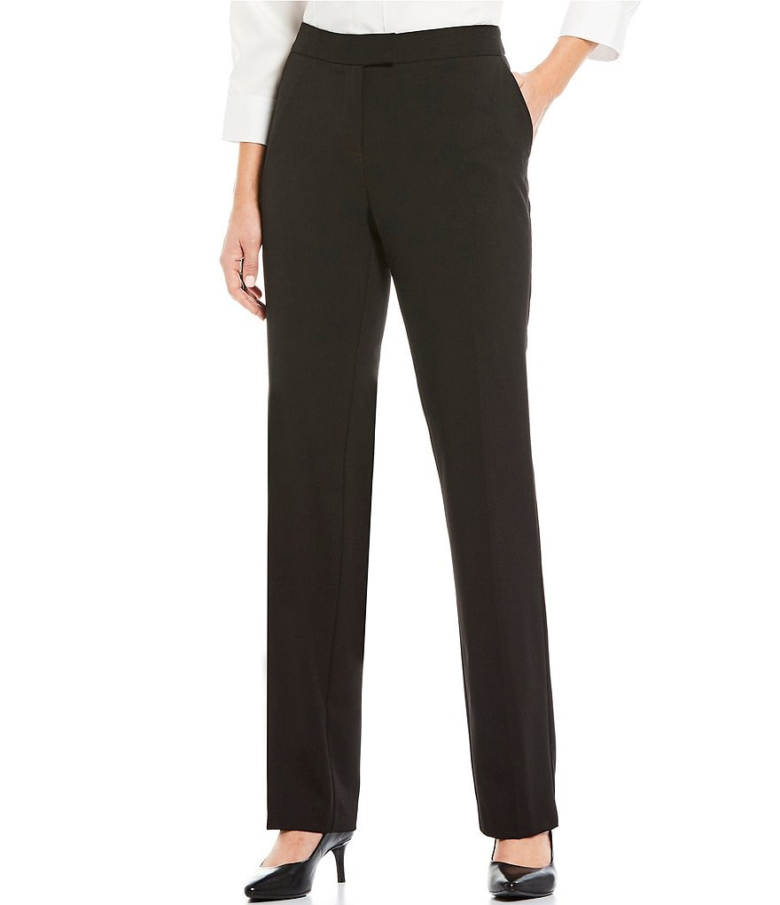 Jones New York Sydney Classic Straight-Leg Pants