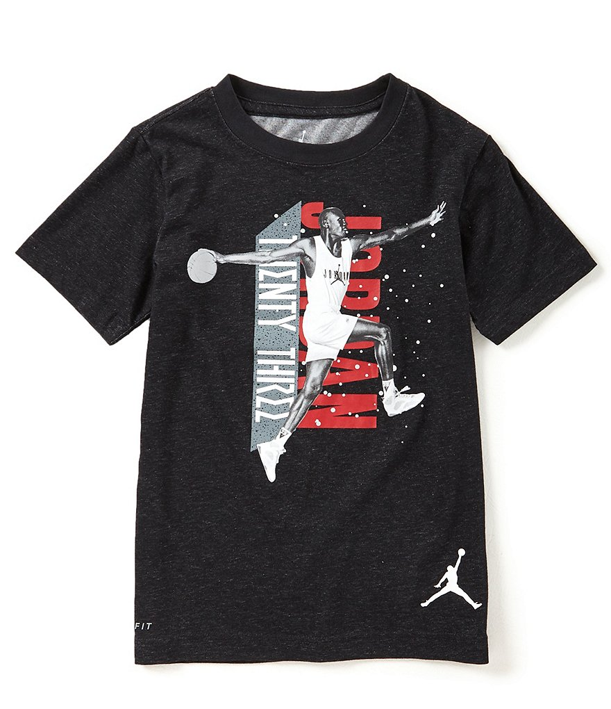 Jordan Big Boys 8-20 AOP Dri-FIT Twenty Three Tee