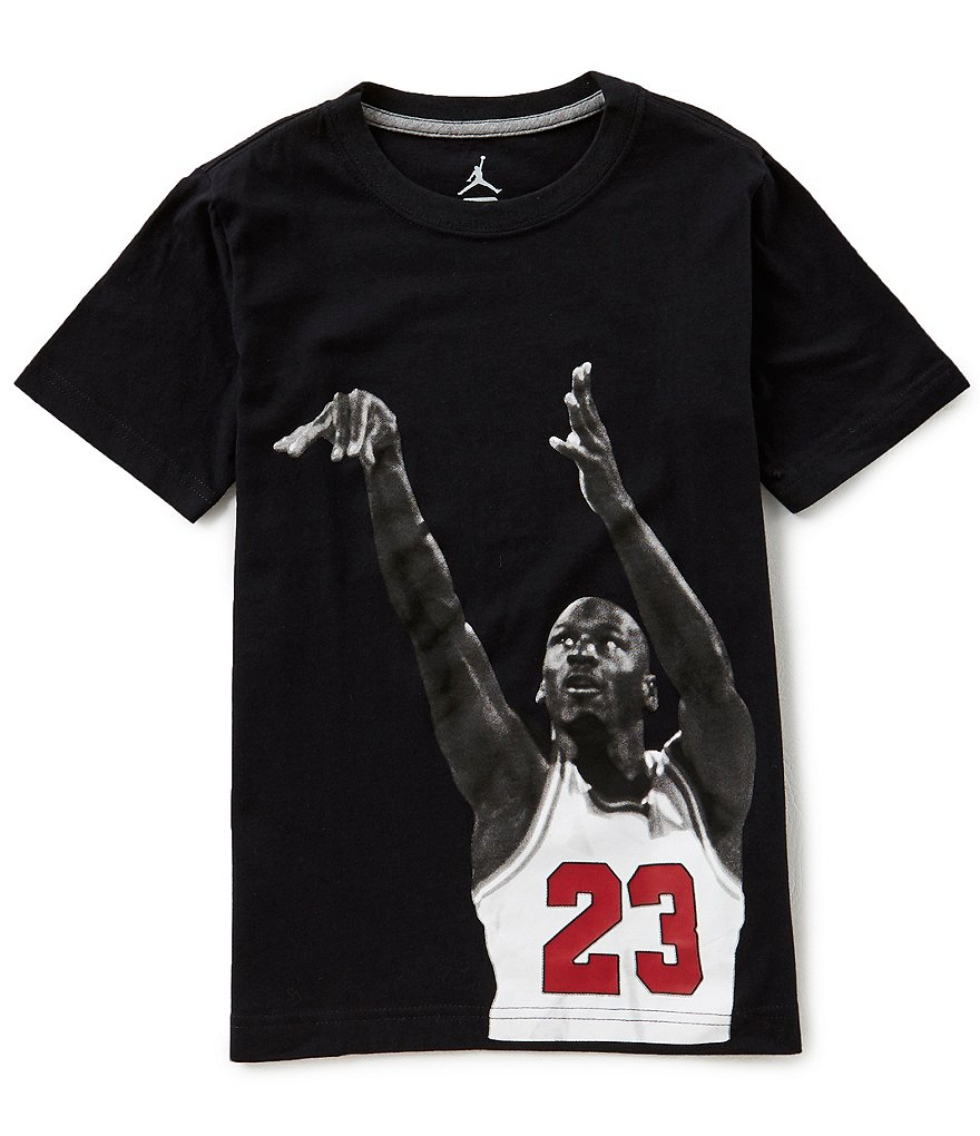 Jordan Big Boys 8-20 Branded Short-Sleeve Tee