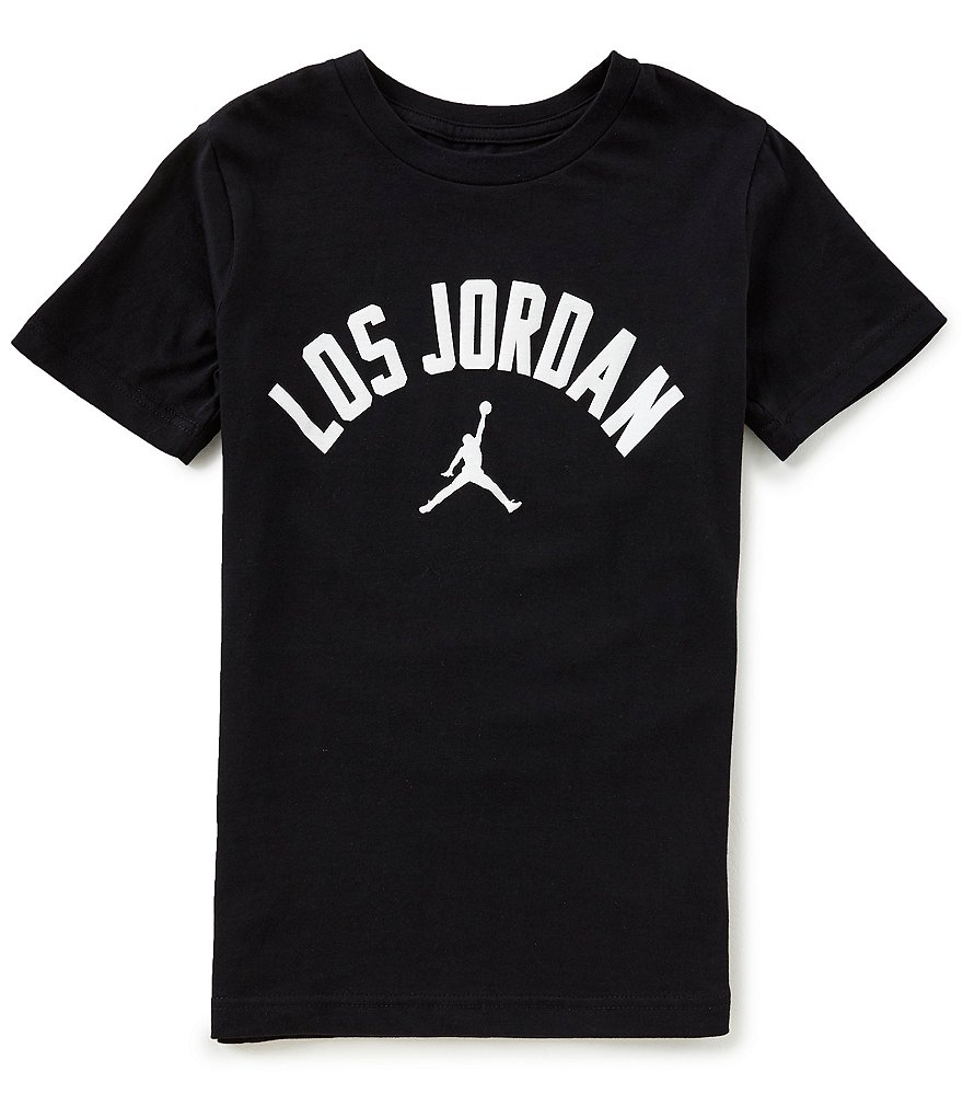 Jordan Big Boys 8-20 Short-Sleeve Los Jordan Tee