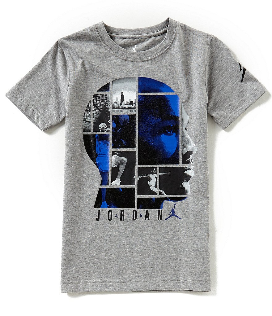 Jordan Big Boys 8-20 Short-Sleeve Tee