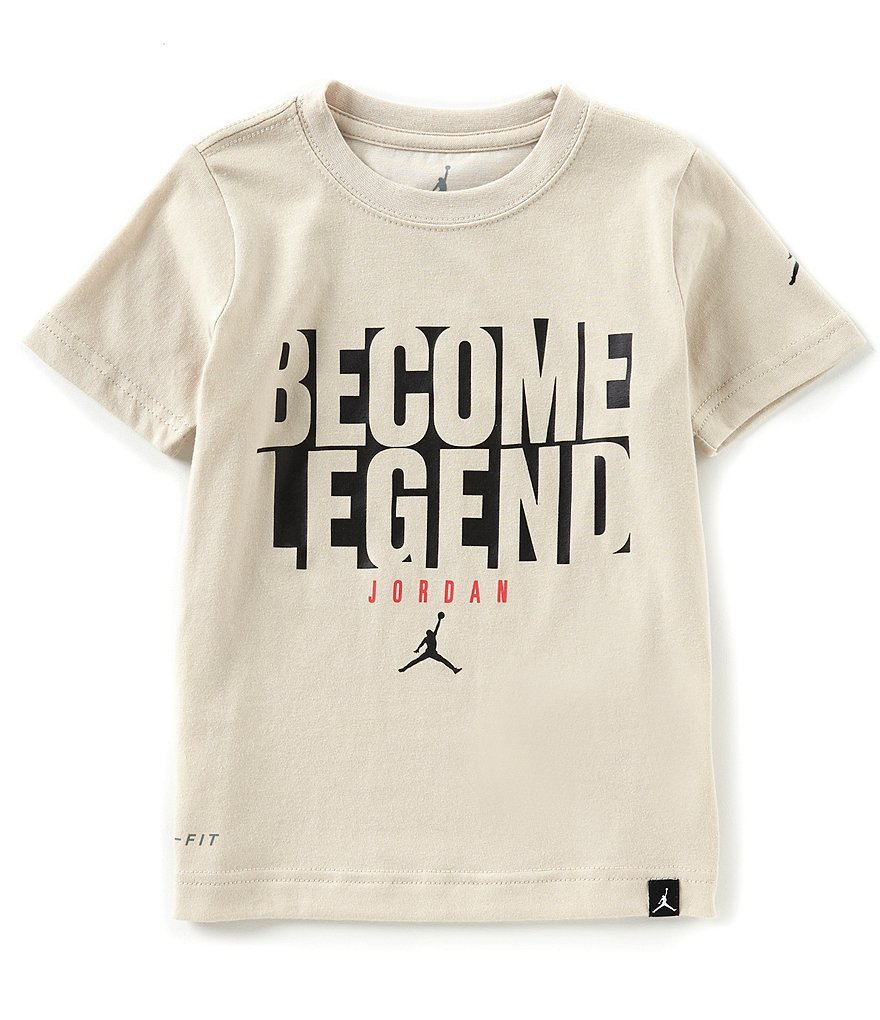 Jordan Little Boys 2T-7 Short-Sleeve Become Legend Tee