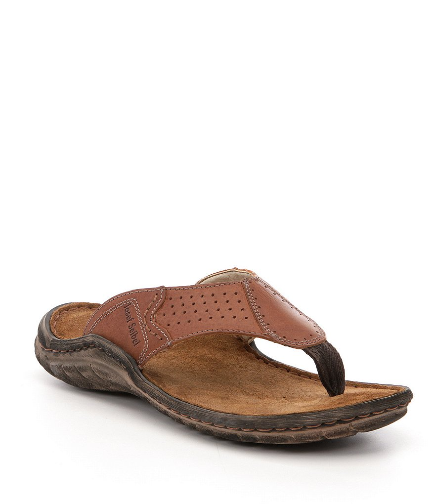Josef Seibel Men's Nico 23 Thong Sandals