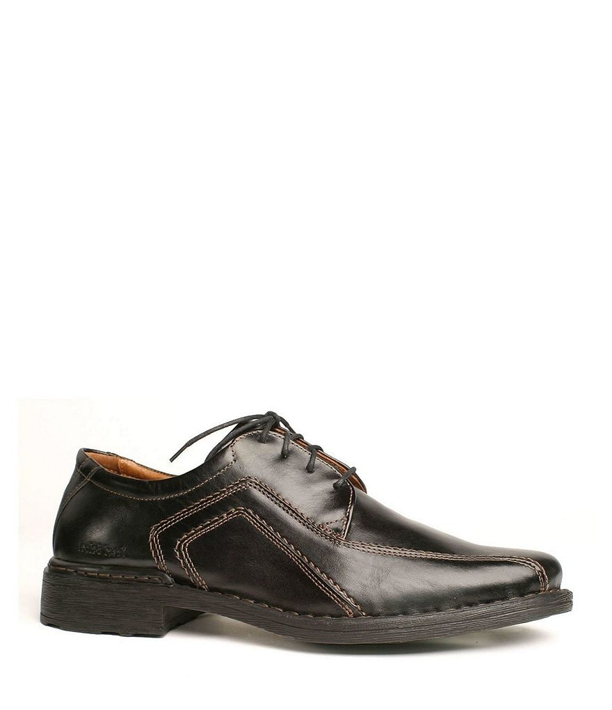 Josef Seibel Sander Contrast Leather Oxfords