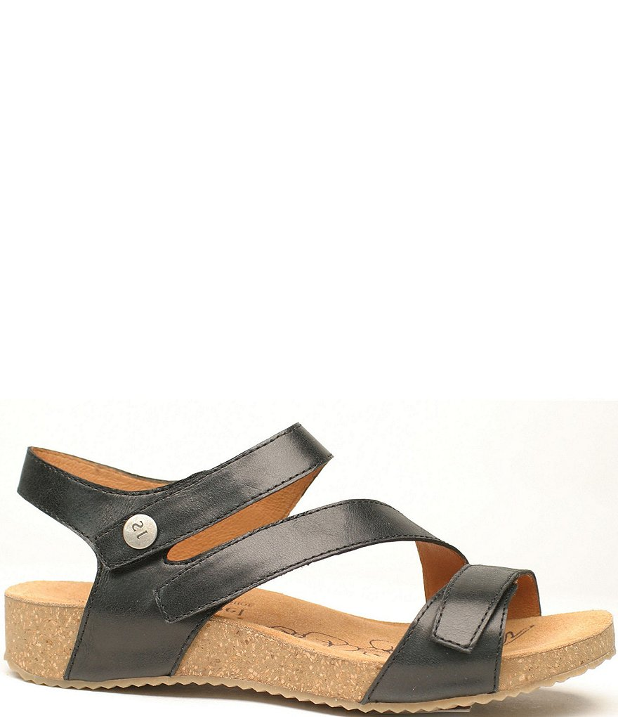 Josef Seibel Tonga 25 Leather Metallic Sandals