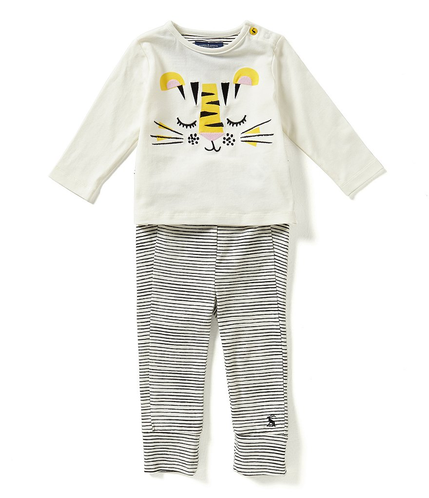 Joules Baby Boys Newborn-12 Months Jersey Top And Pants Set
