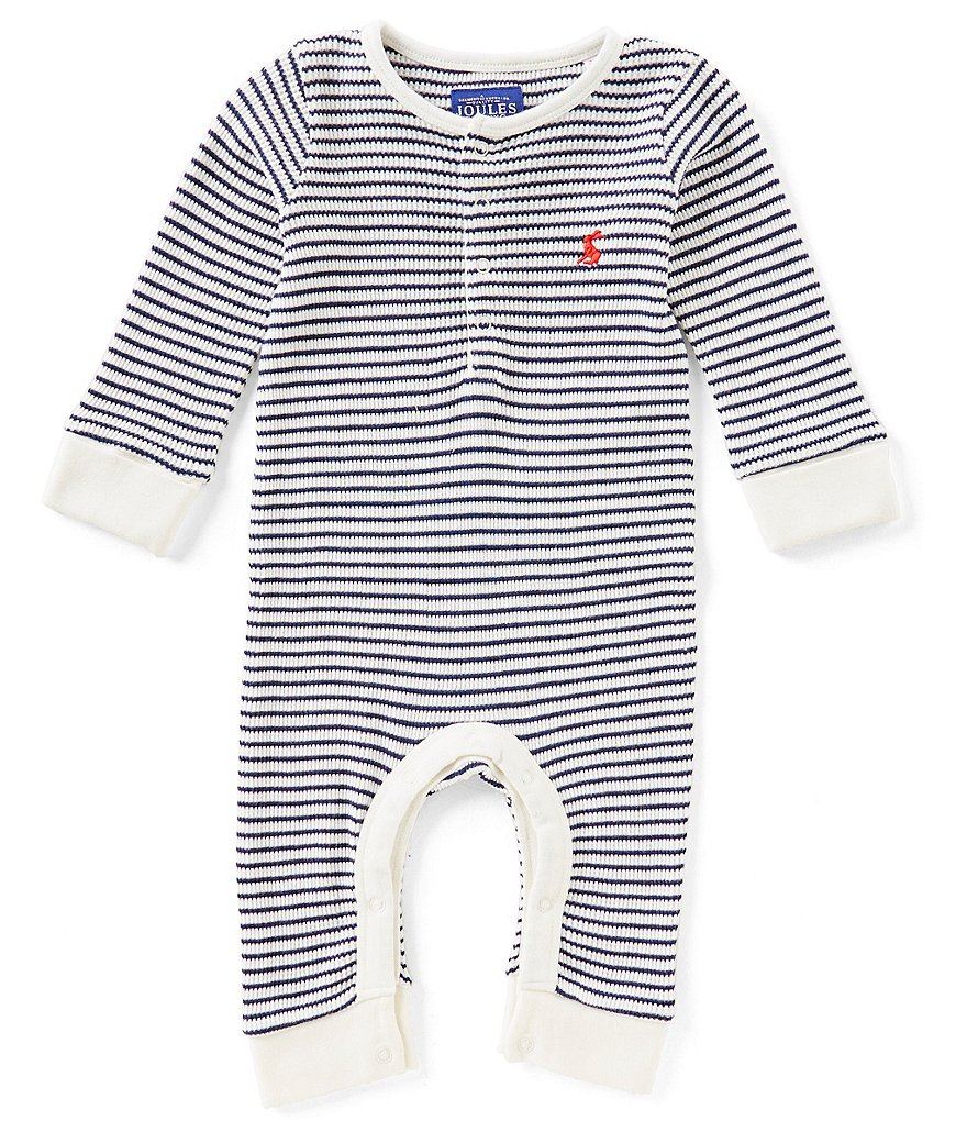 Joules Baby Boys Newborn-24 Months Webley Striped Coverall