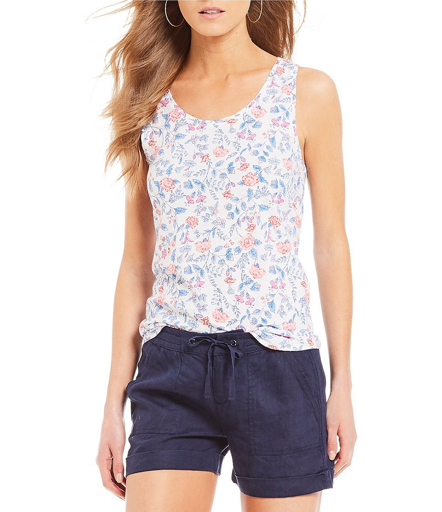 Joules Bo Floral Printed Tank