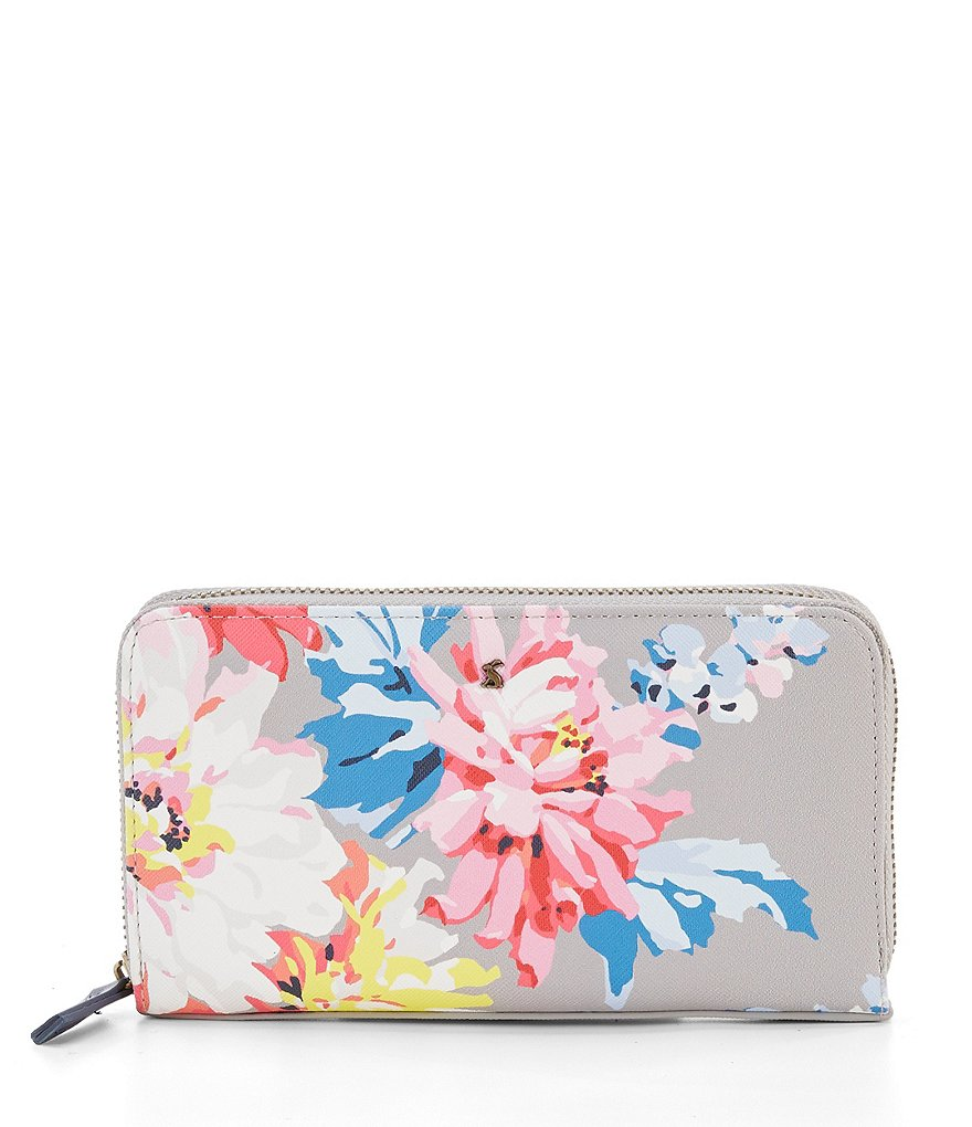Joules Fairford Printed Wallet