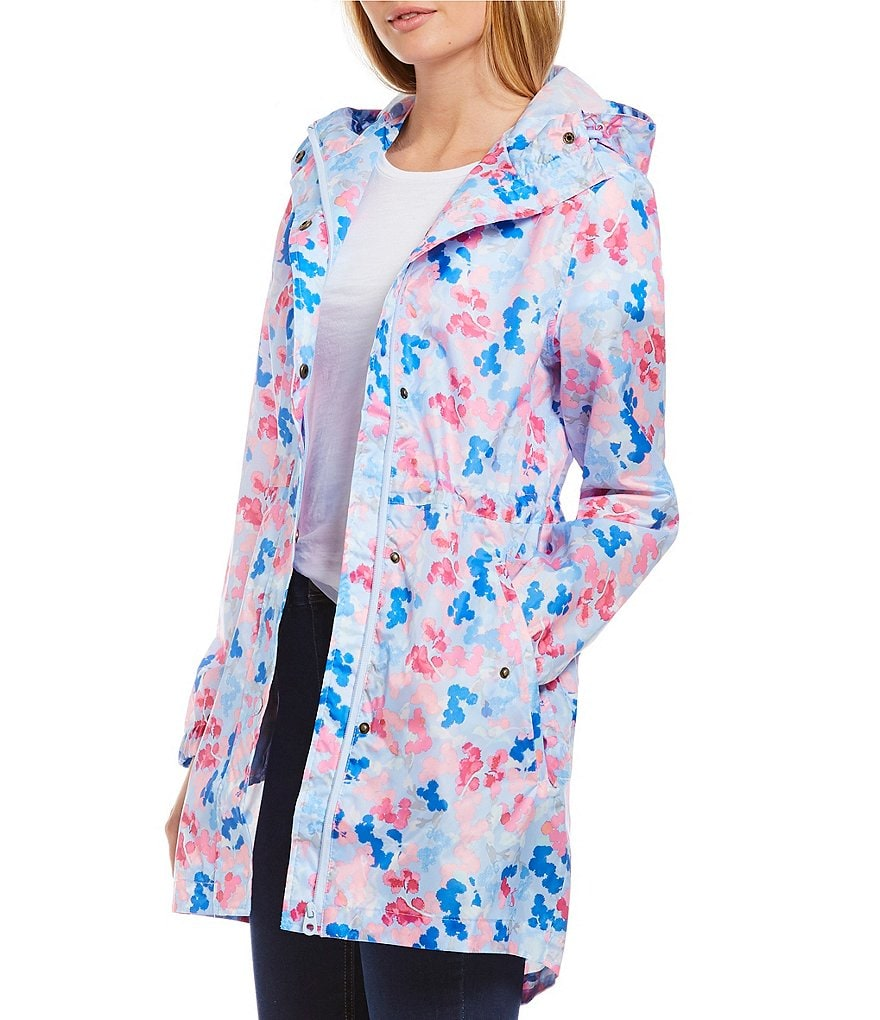 Joules Golightly Waterproof Pack-a-Way Rain Jacket