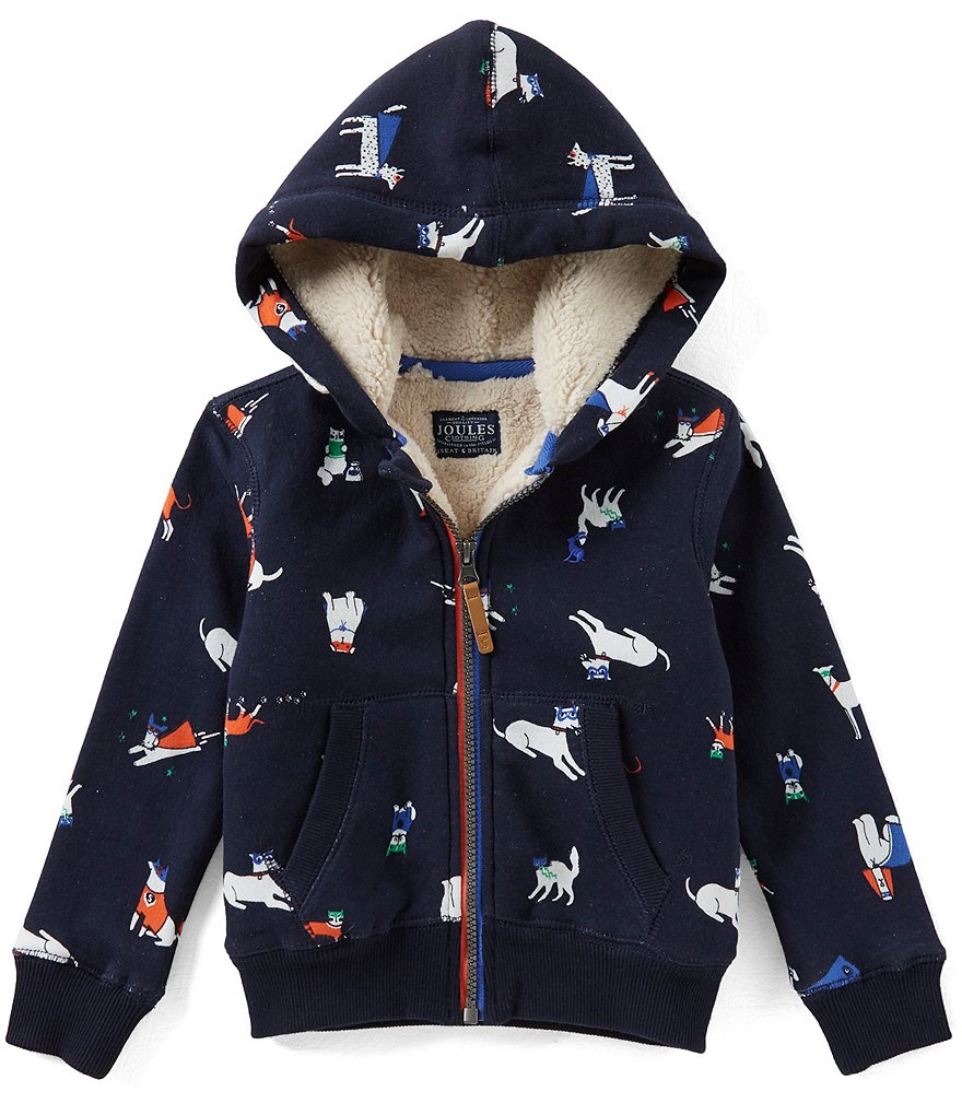 Joules Little Boys 1-6 Puppy Hooded Sweatshirt