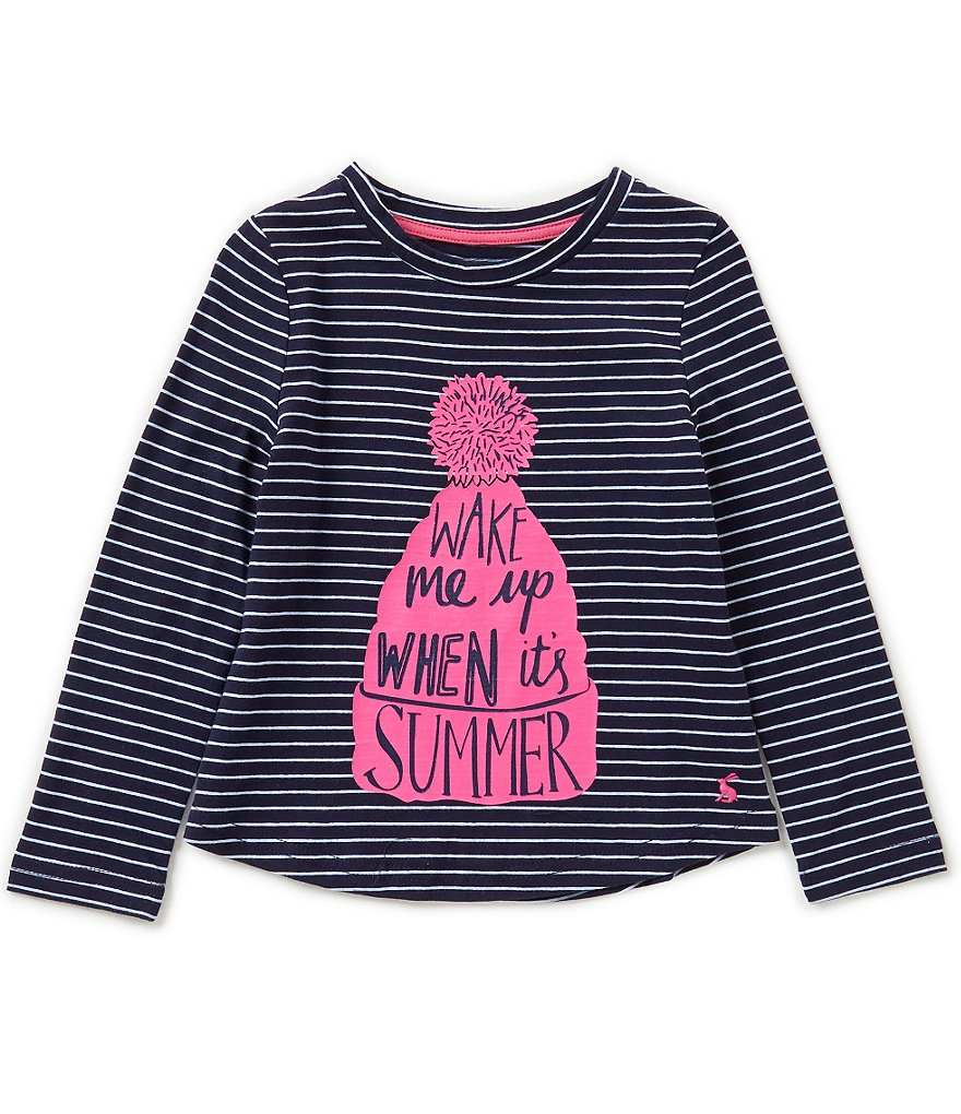 Joules Little Girls 3-6 Bessie Screen Print Top