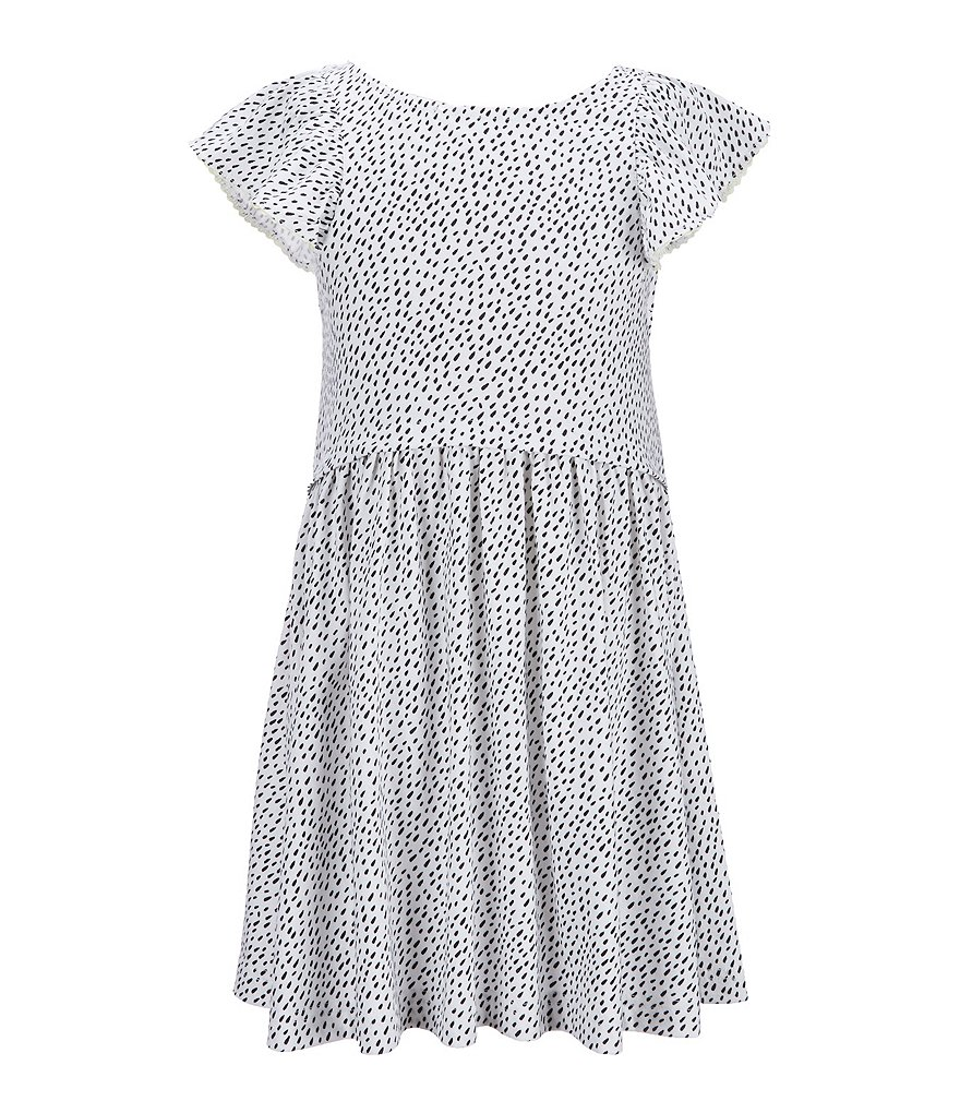 Joules Little Girls 5-6 Verity Dash-Printed Woven Dress