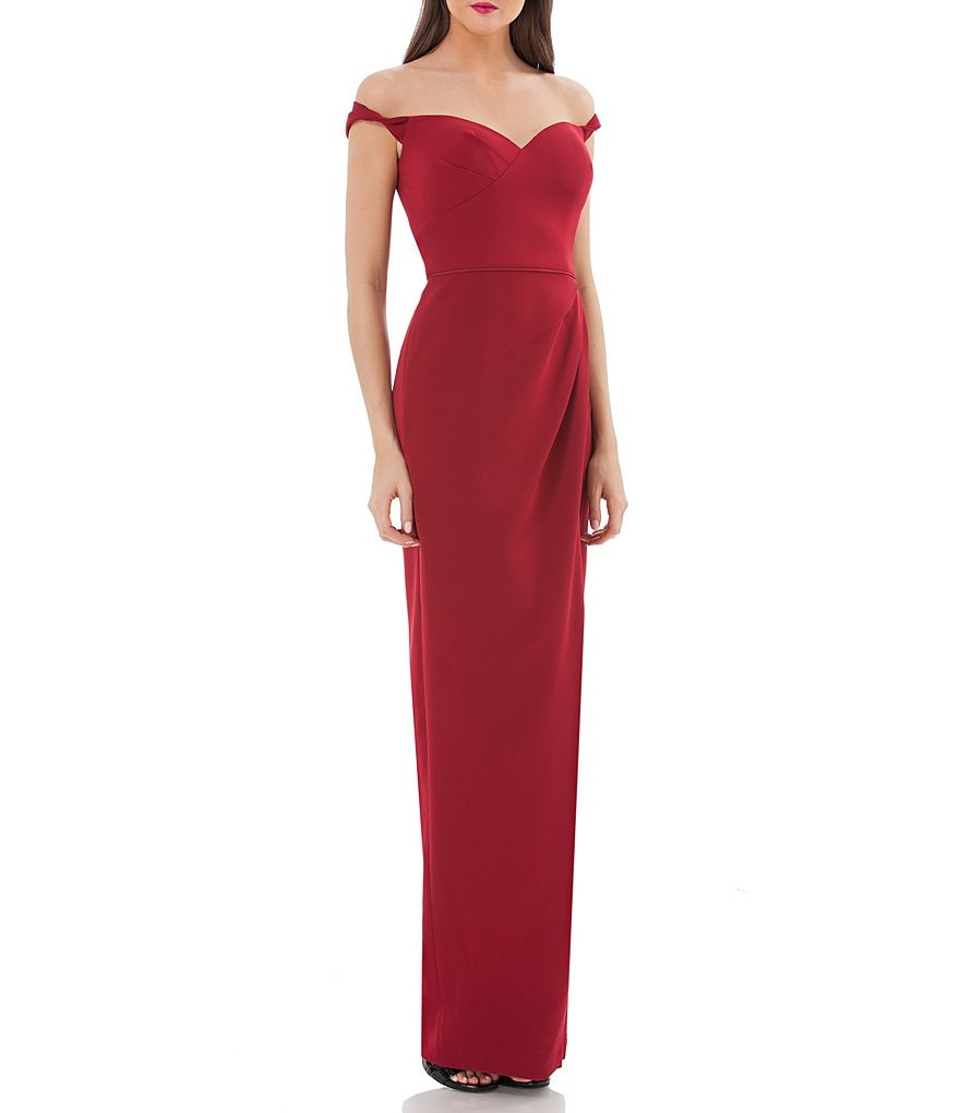 JS Collections Off-The-Shoulder Gown