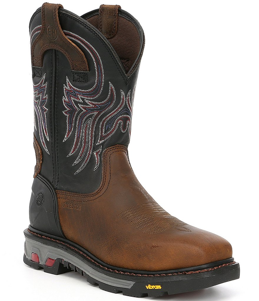 Justin Original Work Boots Men's Tanker Boots