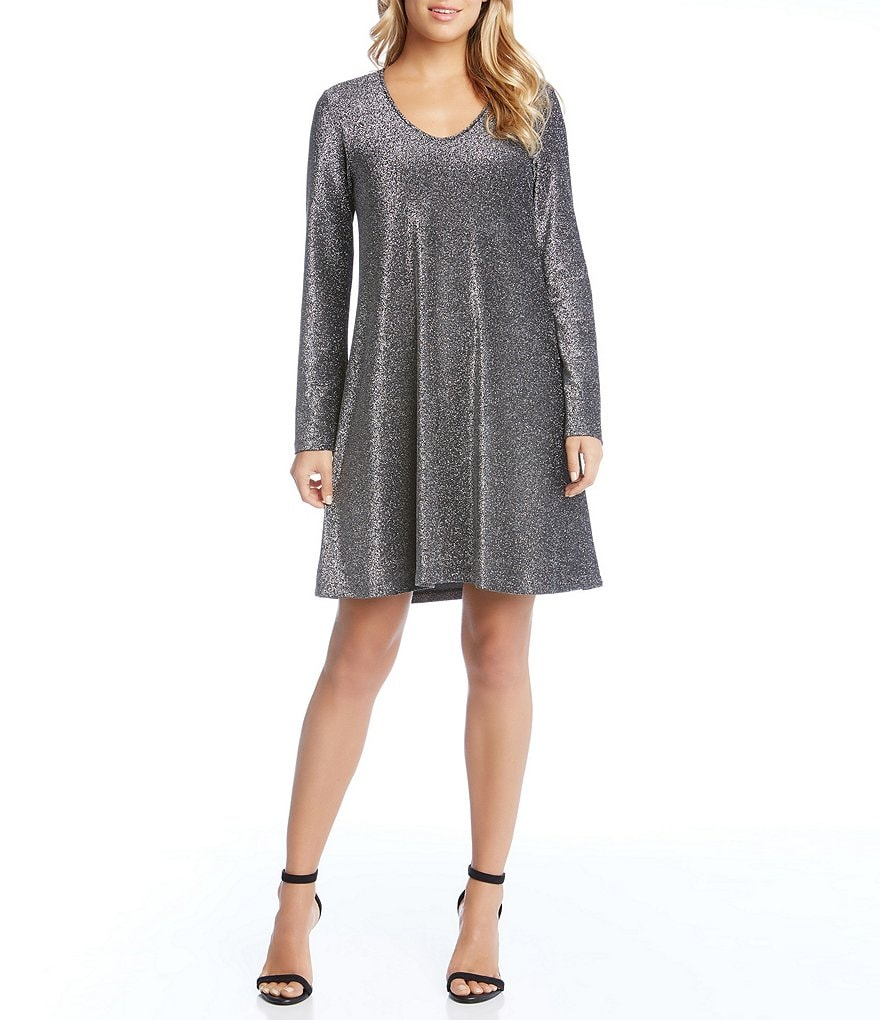 Karen Kane Sparkle Taylor Dress