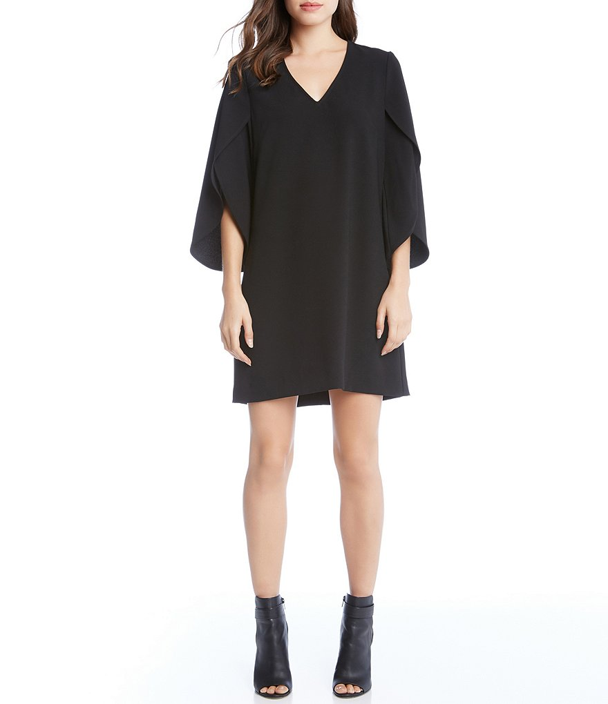 Karen Kane Split Sleeve Shift Dress