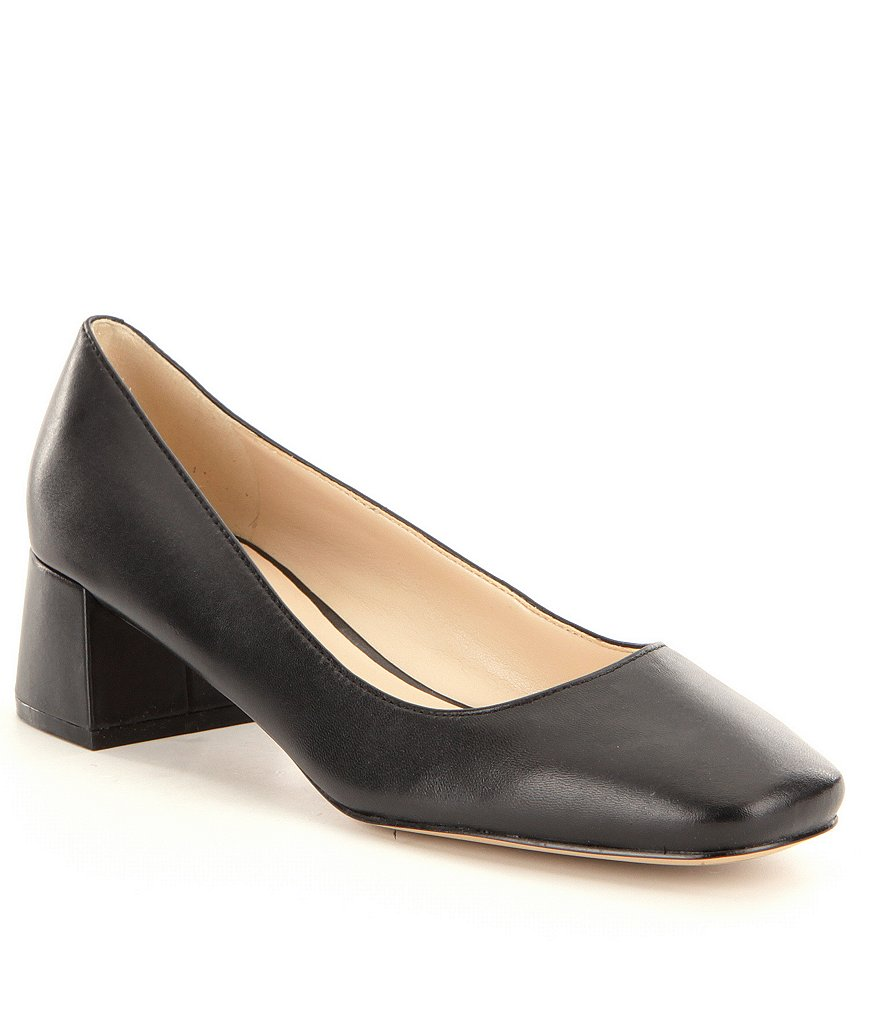 KARL LAGERFELD PARIS Charee Leather Pumps