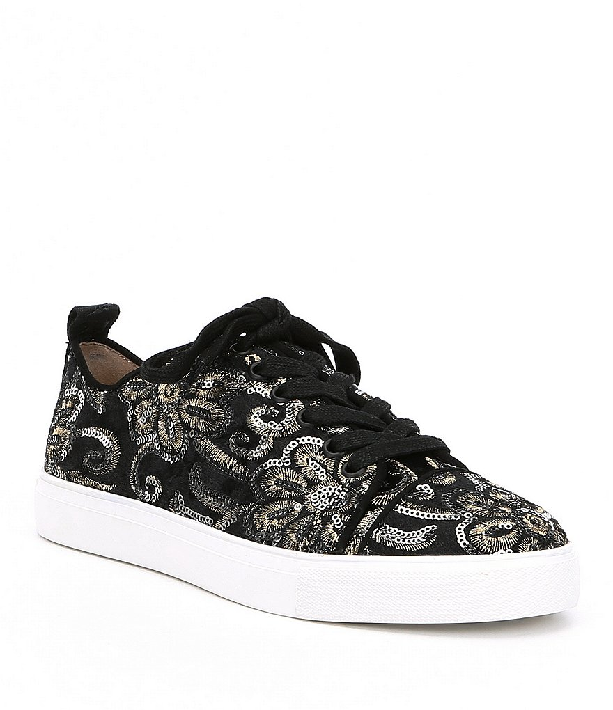 KARL LAGERFELD PARIS Evron2 Sequin Sneakers