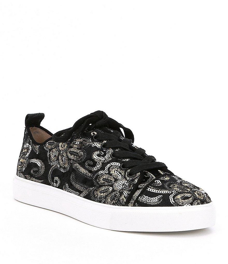 KARL LAGERFELD PARIS Evron2 Sequin Sneakers