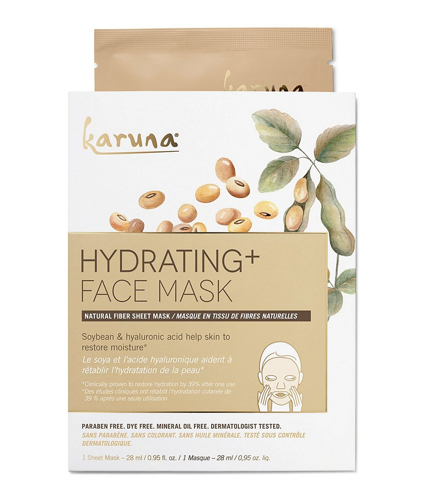 Karuna Skin Hydrating + Face Mask Single