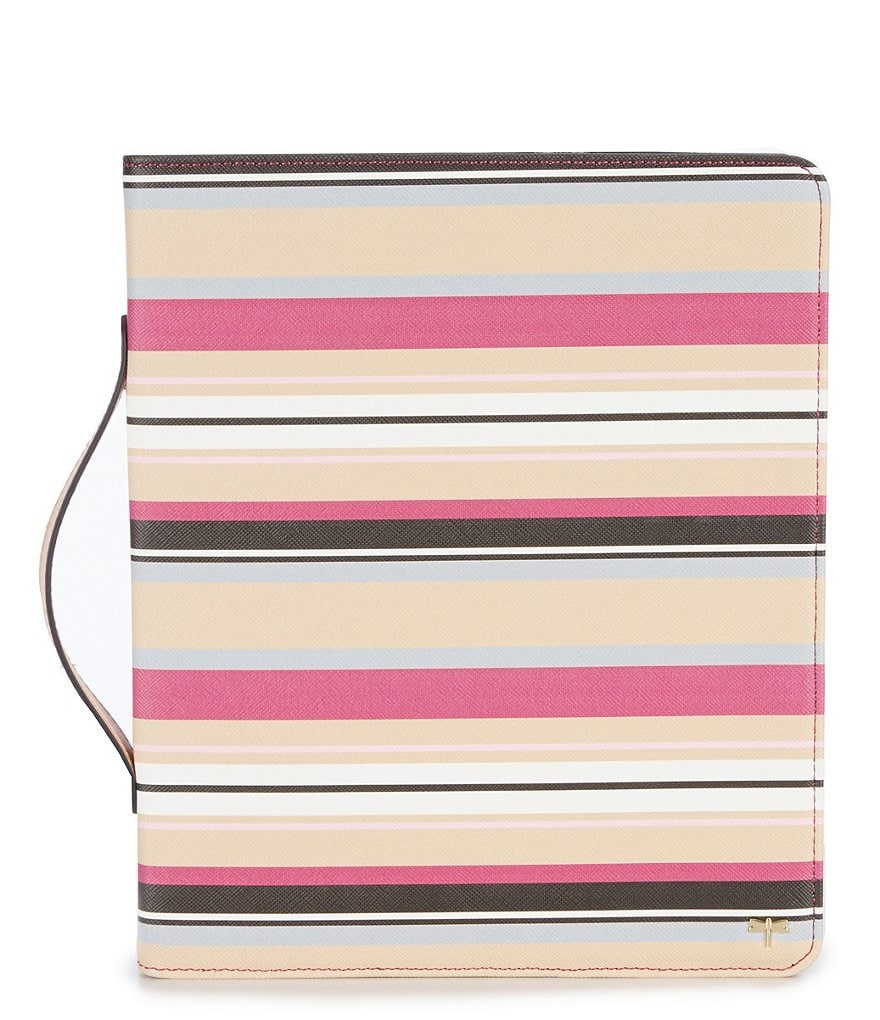 Kate Landry Cubana Stripe iPad Case