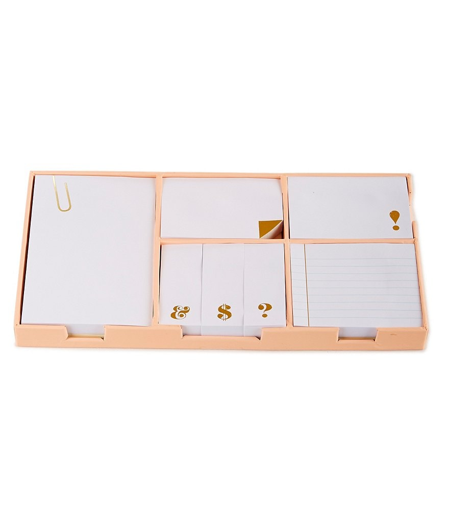 kate spade new york 7-Piece Sticky Note Set