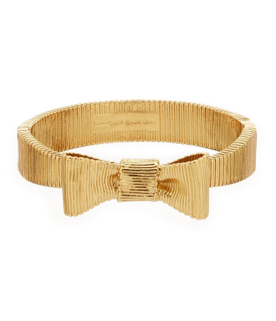 kate spade new york All Wrapped Up Bow Bangle Bracelet
