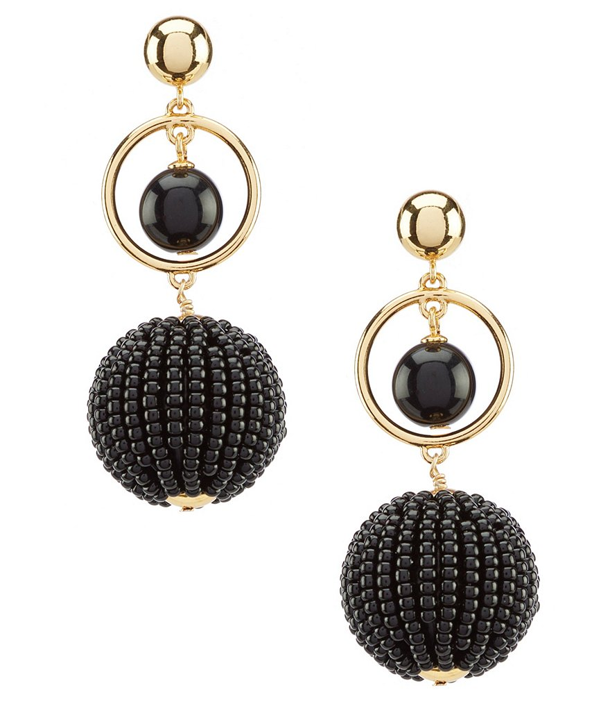 kate spade new york Beads & Baubles Drop Statement Earrings