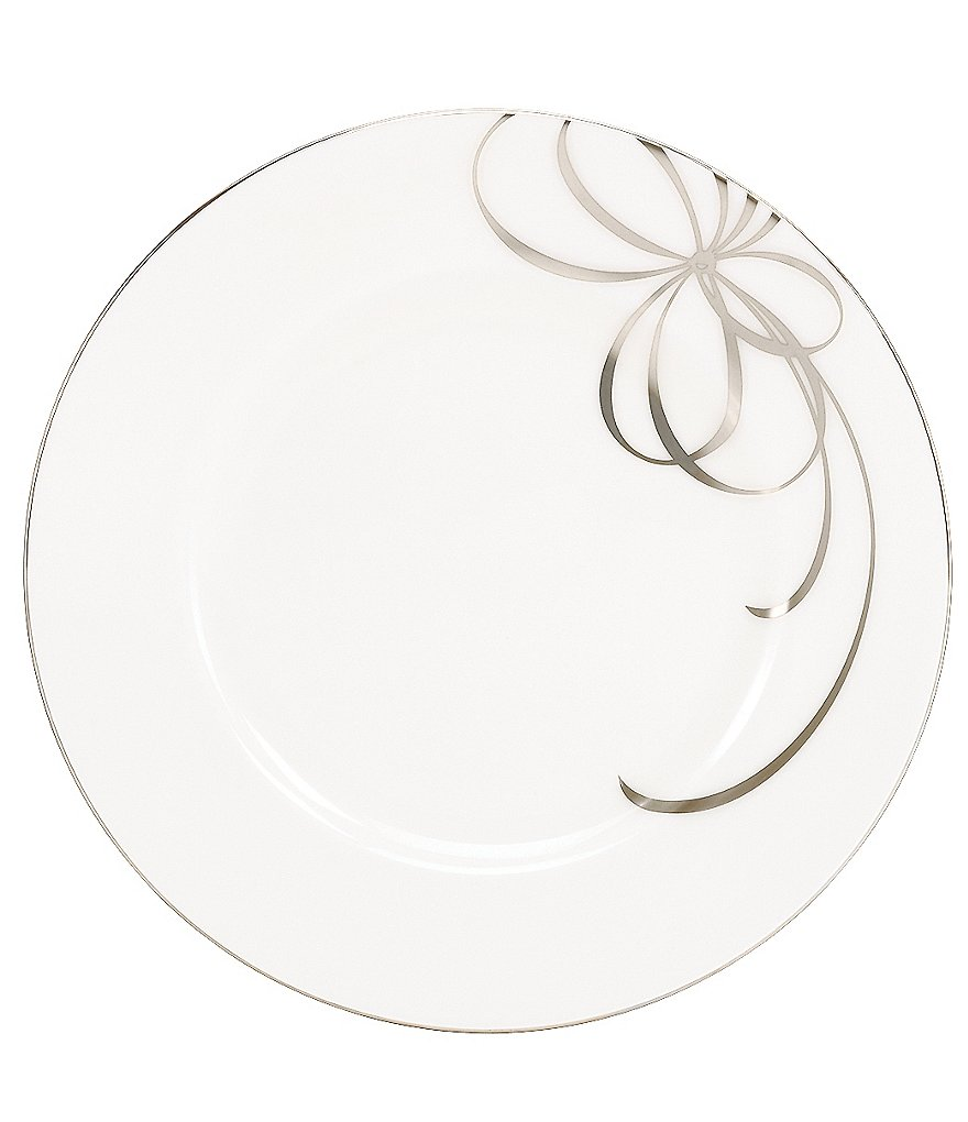 kate spade new york Belle Boulevard Platinum Dinner Plate