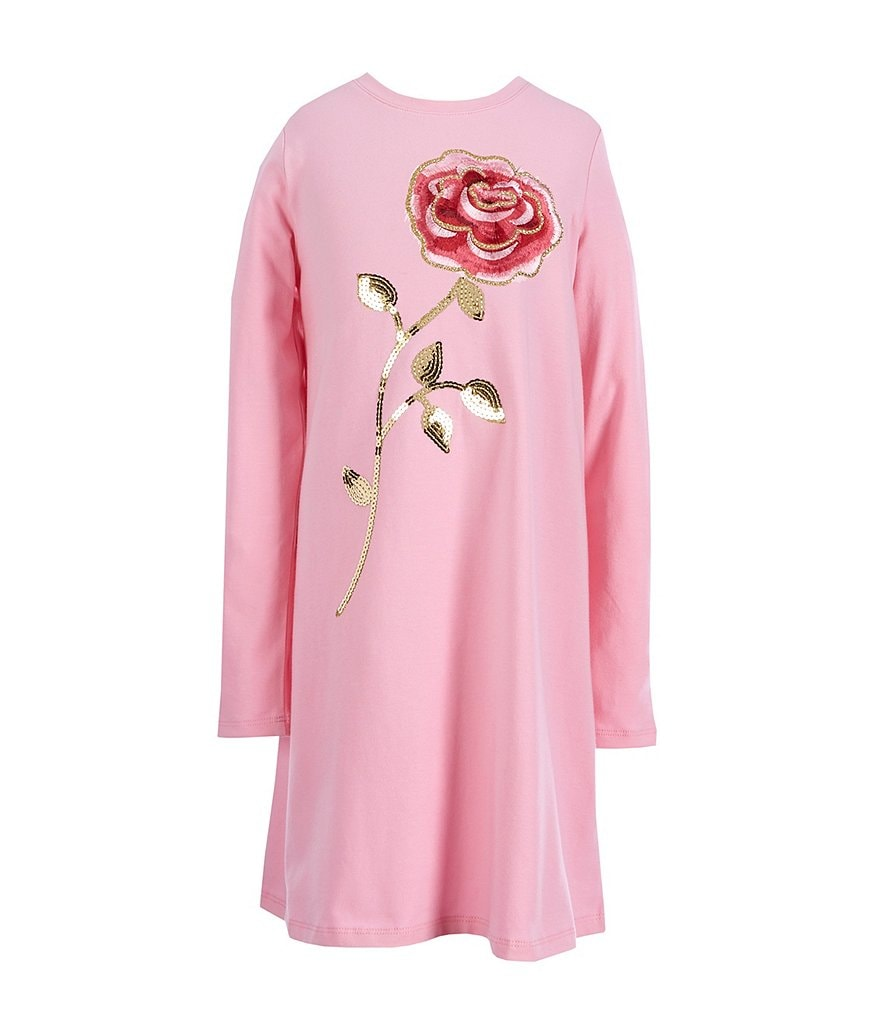 kate spade new york Big Girls 7-14 Rose-Embroidered Dress