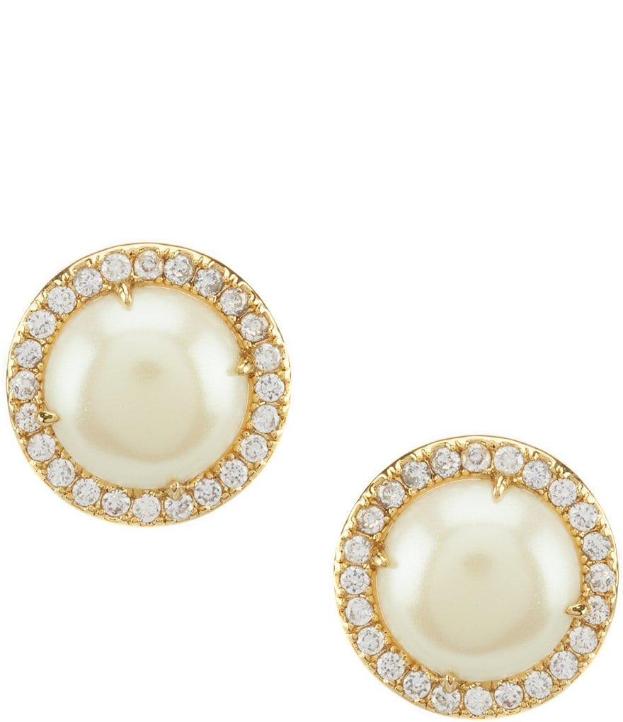 Kate Spade New York Bright Ideas Pave Halo Stud Statement Earrings