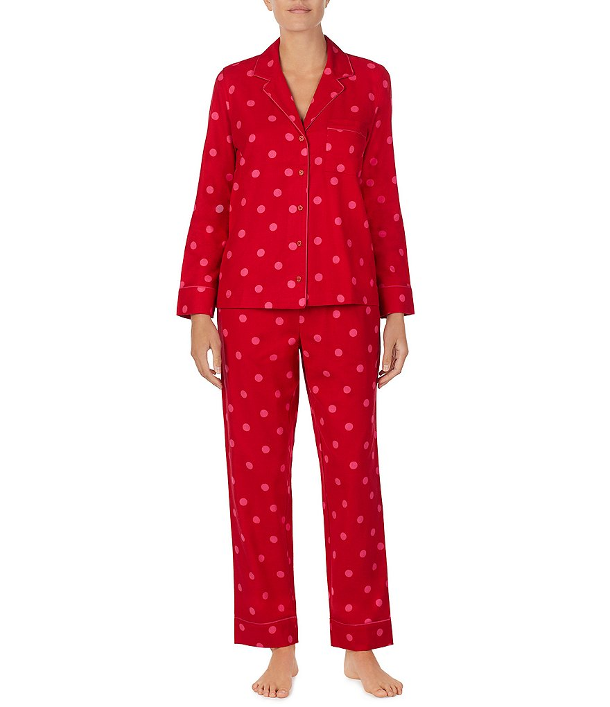 kate spade new york Brushed Twill Pajamas